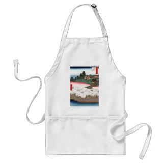 Thousand inferior wooden dumpling hill flower shop adult apron