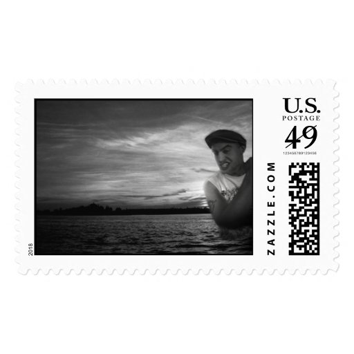 Thousand Islands Monster Postage Stamp