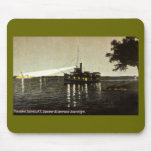 Thousand Islands, N.Y.,  St. Lawrence Searchlight Mousepad