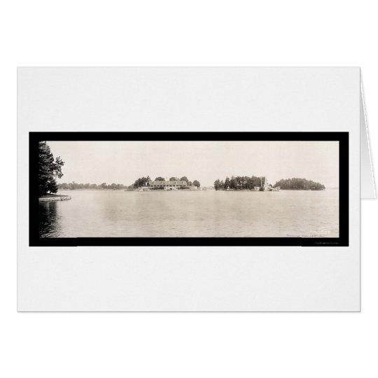 Thousand Islands NY Photo 1909 Card