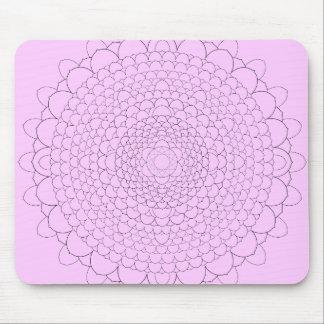 Thousand Petal Lotus Mousepad