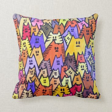 Wedding Themed THP - 009 - CATS - Throw Pillow