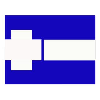 Thrace, Greece flag Postcard