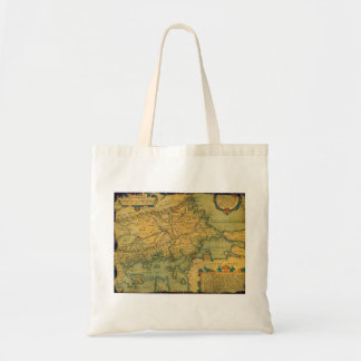 Thraciae Veteris Typvs Map by Abraham Ortelius Tote Bag