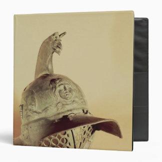 Thracian gladiator's helmet 3 ring binder