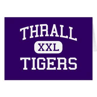 Thrall - Tigers - Senior - Thrall Texas Card