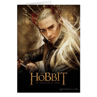 Thranduil Character Poster 1 Greeting Cards