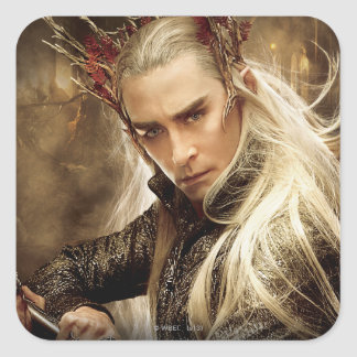 Thranduil Character Poster 1 Square Sticker