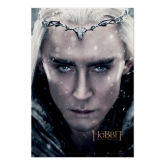 Thranduil Close Up Poster