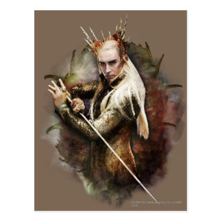 Thranduil con la espada postal