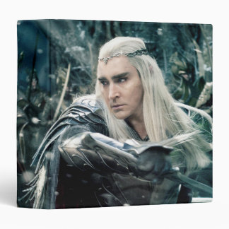 Thranduil In Battle 3 Ring Binder