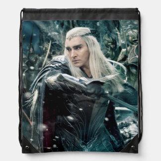 Thranduil In Battle Drawstring Bag