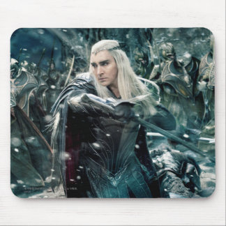 Thranduil In Battle Mouse Pad