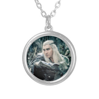 Thranduil In Battle Silver Plated Necklace