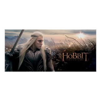 Thranduil Leading Army Poster