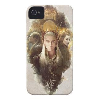 Thranduil, LEGOLAS GREENLEAF™, & TAURIEL™ Graphic iPhone 4 Case-Mate Case