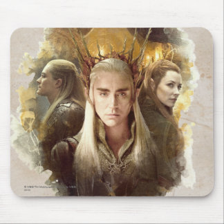 Thranduil, LEGOLAS GREENLEAF™, & TAURIEL™ Graphic Mouse Pad