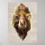 Thranduil, LEGOLAS GREENLEAF™, & TAURIEL™ Graphic Poster