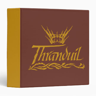 Thranduil Name 3 Ring Binder