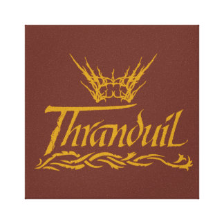 Thranduil Name Canvas Print