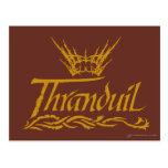 Thranduil Name Postcard