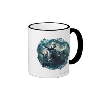 Thranduil, TAURIEL™, & LEGOLAS GREENLEAF™ Graphic Ringer Mug