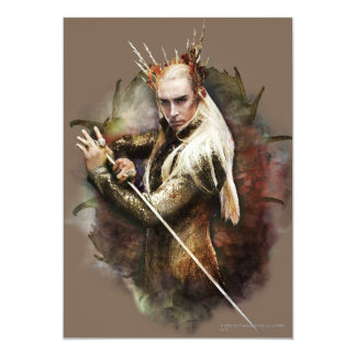Thranduil With Sword Card
