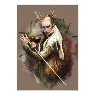 Thranduil With Sword Card