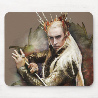 Thranduil With Sword Mouse Pad