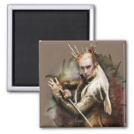 Thranduil With Sword Refrigerator Magnet