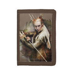 Thranduil With Sword Trifold Wallet at Zazzle