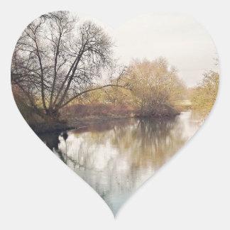 Thrapston Calcomanía Corazón Personalizadas