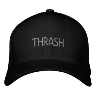 Thrash Embroidered Hat