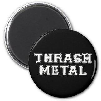 Thrash Metal 2 Inch Round Magnet