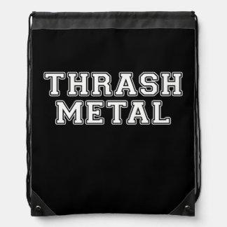 Thrash Metal Drawstring Bag