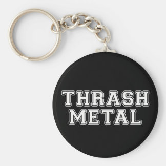 Thrash Metal Keychain