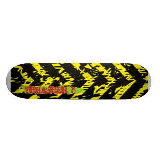 Thrasher V Skateboard Deck