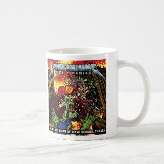 THRASHING LIKE A MANIAC-  Beverage Mug