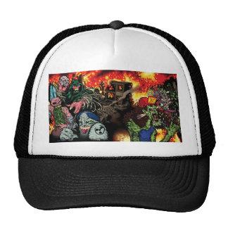 Thrashing Like A Maniac - Trucker Cap with art Trucker Hat
