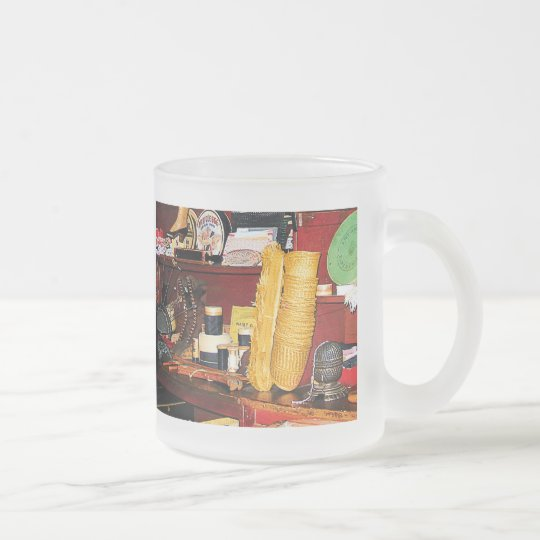 Thread and Yarn for Sale Frosted Glass Coffee Mug