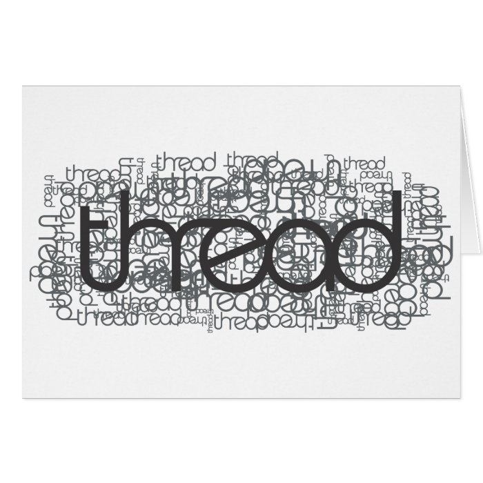 Thread Show Card