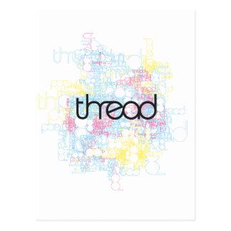 Thread Show Postcard