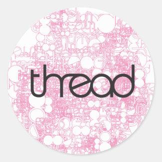 Thread Show Stickers