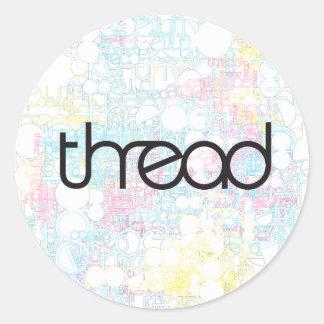 Thread Show Sticker