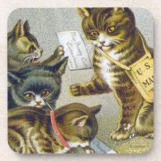 Thread Trade Card, 1880 Coaster