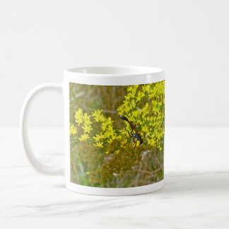 Thread-Waist Wasp on Goldenrod Items Coffee Mug