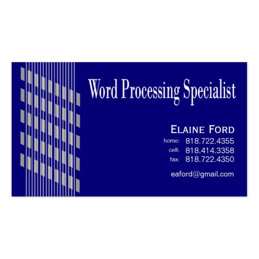 Threaded Ribbons Word Processing Specialist Expert ...