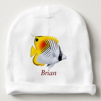 Threadfin Auriga Butterfly Fish Baby Hat