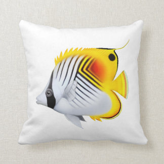 Threadfin Auriga Butterflyfish Pillows