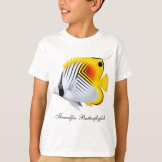 Threadfin Butterflyfish Kids T-Shirt